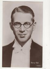 Henry Hall Band Leader Vintage RP Photo Card Music 677b
