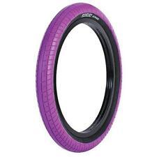 Sunday Seeley Street Sweep Tire 20 X 2.4 Purple With Black Sidewall