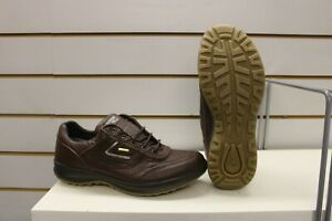 Grisport Airwalker Brown Leather Active Leisure Walking Shoes UK 9 EU 43