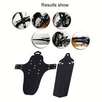 1 Set Cycling MTB Mountain Bike Front+Rear Mud Bicycle Guards Mudguard Fenders