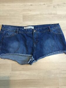 Denim Shorts Size 20