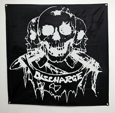 """Discharge Born To Die Heavy Metal Music Poster Flag Banner 48"""" x 48"""" 10068796"""