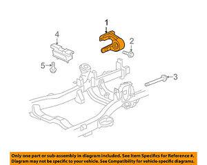 Hummer GM OEM 06-10 H3-Engine Motor Mount Torque Strut 15925797