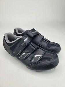Shimano Cycling Shoes Womens Size 7.8 Off Set Mountain Spin SH-WM52L Black EU 40