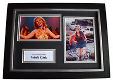 Petula Clark Signed A4 FRAMED Autograph Photo Display Music AFTAL & COA