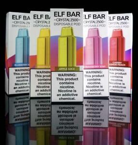 Elf Bar Crystal Disposable 20MG Nic Salt Buy 3 Get 1 Free (ADD 4)