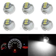 6 X White T4 Neo Wedge 3 Smd Led Light Center A C Climate Control