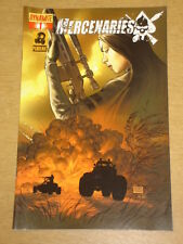 MERCENARIES #1 COVER B 2007 DYNAMITE MICHAEL TURNER
