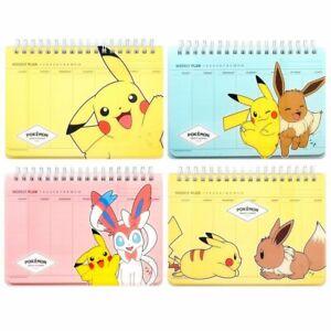 Pokemon PP Scheduler Weekly Planner 1PC