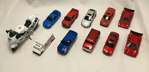 Lot of 11 Maisto Cars Vehicles - Porsche, Lamborghini, Mustang, Charger, F-150