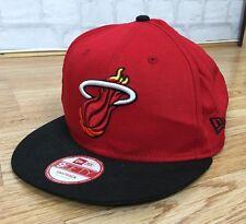 NBA MIAMI HEAT 9FIFTY BASKETBALL SPORTS VINTAGE RETRO SNAPBACK CAP HAT