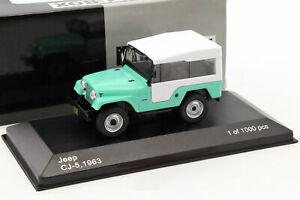 JEEP CJ5 1963 - 1/43 WHITEBOX NEUF