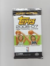 NBA :  Sealed Pack of 2006-07 Topps Hobby Edition Basketball Cards - 12 cards