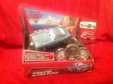 DISNEY PIXAR CARS 2 ALARM CLOCK TOYS R US EXCLUSIVE FINN MCMISSILE