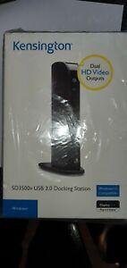 Kensington SD3500v USB 3.0 Dual Display Universal Laptop Docking Station, Expand