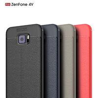 For Asus ZenFone 4V / V V520KL Ultra Thin PU Leather Soft TPU Shockproof Case