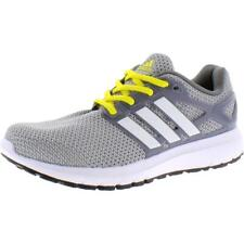 Adidas Mens Energy Cloud Gray Knit Running Shoes Sneakers 8 Medium (D) BHFO 5553