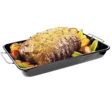 Barbecue Genius Ceramic Drip Pan for Roasting or Rotisserie 36105