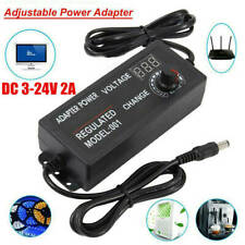 Adjustable Voltage 3 To 24v Acdc Switch Power Supply Adapter With Led Display C