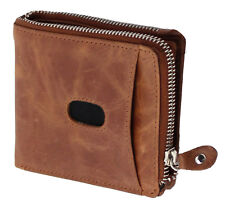 Topsum London RFID BLOCKING Real Soft Leather Zipped Wallet With Gift Box - 4017