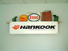 HANKOOK Tire BANNER  Workshop Garage Tyre Fitting Bay pvc sign