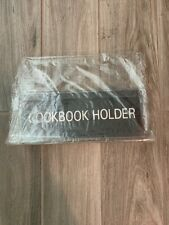 Clear Cookbook Holder base- New Old Stock