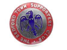 Bedford Football Supporters Club Enamel Badge