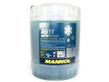 MANNOL Hightec Antifreeze AG13 Kühlerfrostschutz grün -40°C 10 Liter