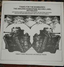 Various - T'ANKS FOR THE MAMMARIES - TAKRL Sampler - Beatles Zappa Bowie Hendrix