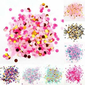 Colors Birthday Party Decorations Filling Balloons Confetti Tissue Paper Round