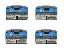 4x Battery for Sennheiser BA150 BA151 BA152 2.4V Ni-MH 80mAh Audio Port Sets