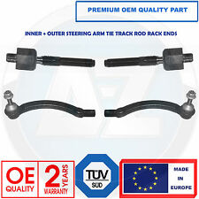 VOLVO S60 S80 V70 XC70 XC90 INNER OUTER STEERING TIE TRACKS RODS RACK ENDS KIT