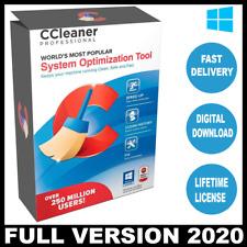 Ccleaner Professional 2020 PC Optimizer ✔LIFETIME LICENSE KEY
