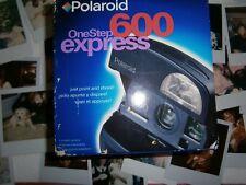 Mega Raro como N e w artículo Polaroid One Step 600 Express Cámara Nuevo en Caja 1 nueva película