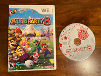 Mario Party 8 Nintendo Wii Game and Case (No Manual) Authentic 100% Working