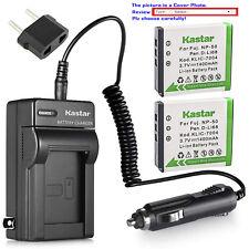 Kastar Battery AC Charger for Fujifilm NP-50 BC-50 Fuji FinePix F850EXR Camera