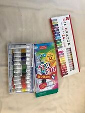 New Wrapped Daiso Japan Oil Crayon and Water Colors Set