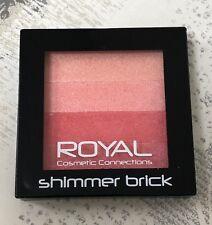 ROYAL Cosmetics Blusher Shimmer Brick. Powder Compact. Brand New & Sealed X