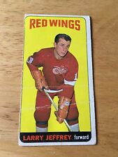 Topps Hockey 1964-65 Larry Jeffrey Detroit Red Wings   card # 49