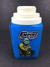 Star Wars Yoda Empire Strikes Back thermos 1981 Lucasfilm Vintage