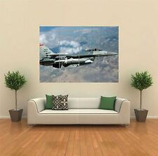F 16 combattimenti Falcon Aereo Fighter Jet Air Force gigante poster art print G846