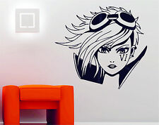 League of Legends VI Anime Decorative Vinyl Art Wall Sticker Decal Manga vi