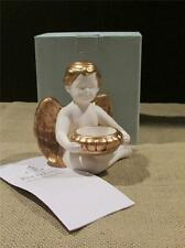 New PartyLite Candles BAROQUE ANGEL Tealight Holder Retired