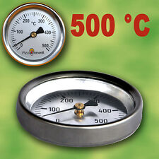 Backofen Herd Thermometer Ofenthermometer Grill Räucherei Edelstahl 300 Grad TOP