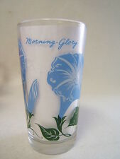 Peanutbutter Glass Morning Glory Blue Name at top