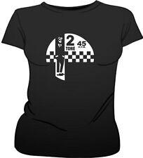 Ska 2 Tone Music Reggae Punk 1970's Female Fit T-Shirt