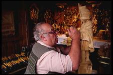 222082 tradicional Woodcarver casco antiguo de Salzburgo A4 Foto Impresión