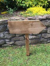 Large Wooden Wedding Sign, Finger Posts, Venue Sign
