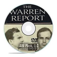 The Warren Commission Report, JFK assassination, Complete 26 Volume DVD PDF F09
