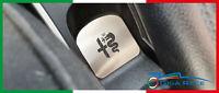 alfa romeo mito protezione protezione base portaoggetti acciaio inox carbon look